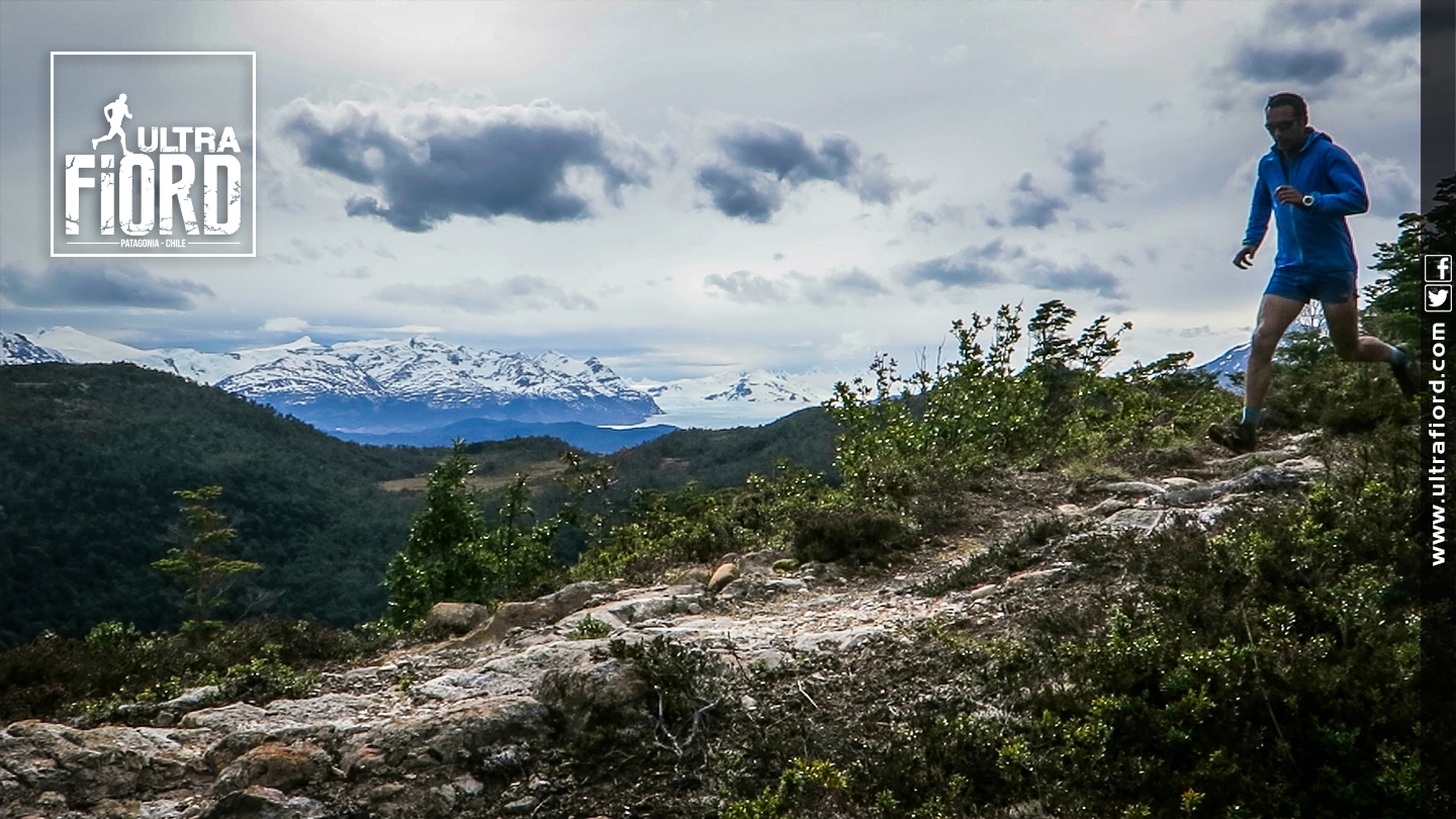 Ultra Trail Running in Ultima Esperanza, Patagonia, Chile; Ultra Fiord Route Mountain and Fjord Trail Running
