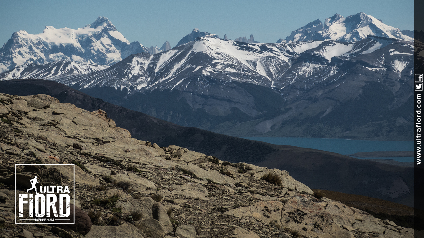 Ultra Trail Running in Ultima Esperanza, Patagonia, Chile; Ultra Fiord Route Mountain Scenery