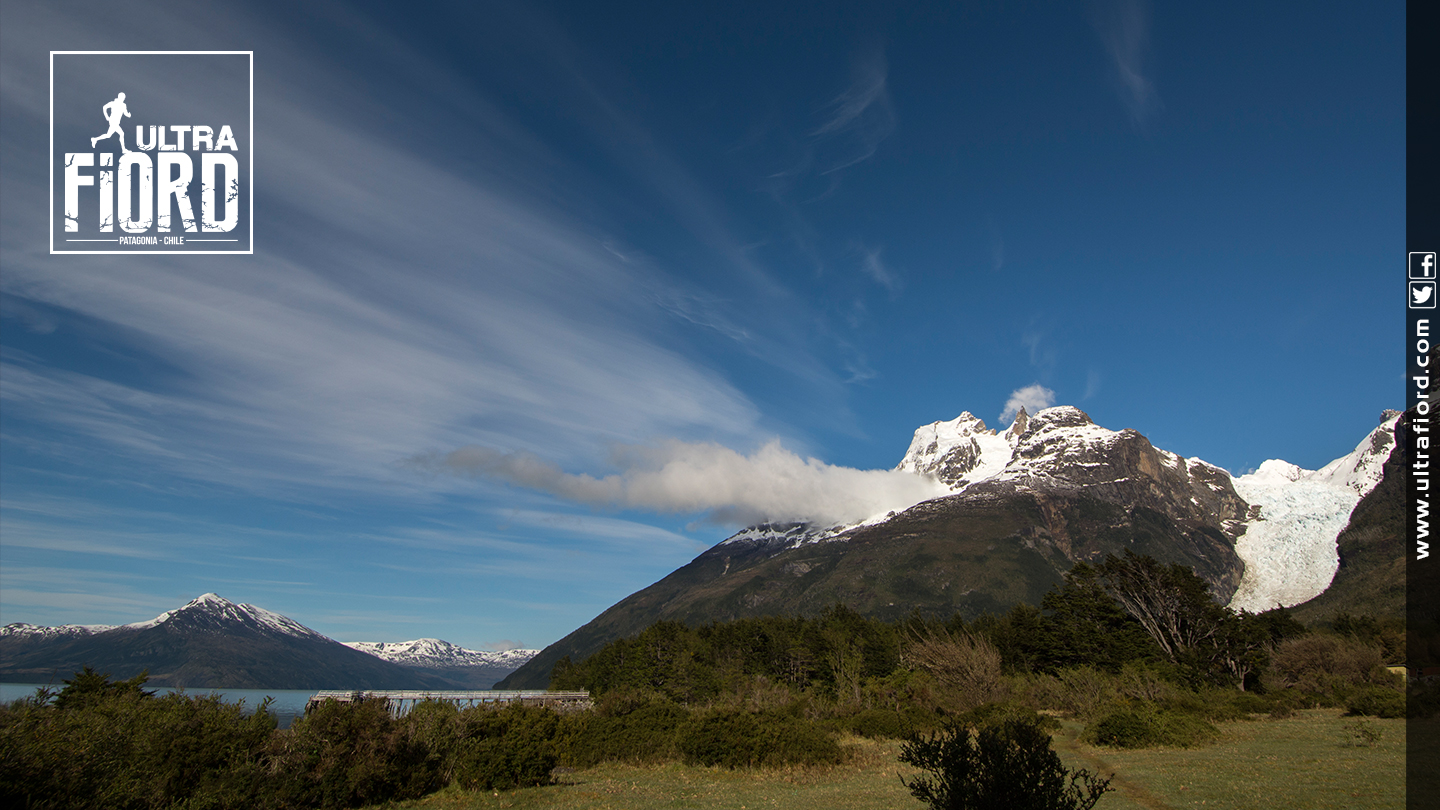 Ultra Trail Running in Ultima Esperanza, Patagonia, Chile; Ultra Fiord Route Scenery