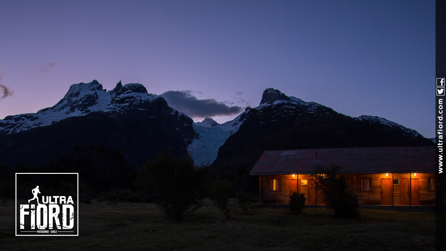 Ultra Trail Running in Ultima Esperanza, Patagonia, Chile; Ultra Fiord Route Fjord Night Glacier