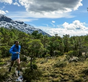 Ultra Trail Running in Ultima Esperanza, Patagonia, Chile; Ultra Fiord Route Trail Running Route