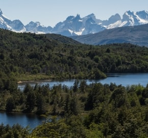 Ultra Trail Running in Ultima Esperanza, Patagonia, Chile; Ultra Fiord Route Fjord Scenery