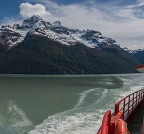 Ultra Trail Running in Ultima Esperanza, Patagonia, Chile; Ultra Fiord Route Fjord Passage