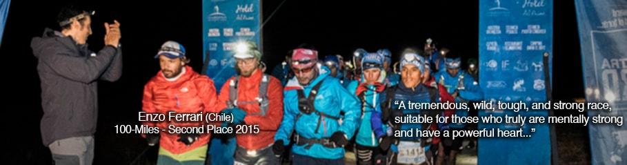 Patagonia, Chile; Ultra Fiord 2015 100 Miles; Enzo Ferrari; Ultra Trail Running
