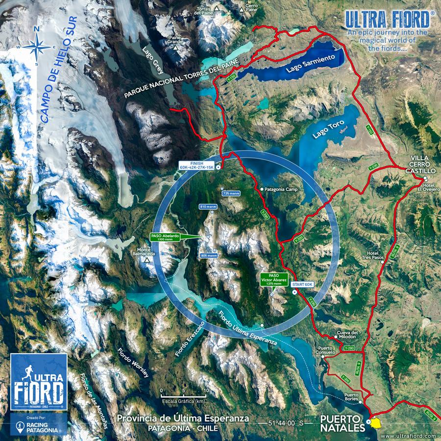 Ultra Fiord 2022 Mapa