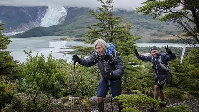 Ultra Trail Running; Patagonia, Chile; Glacier Balmaceda; Ultra Fiord 2015