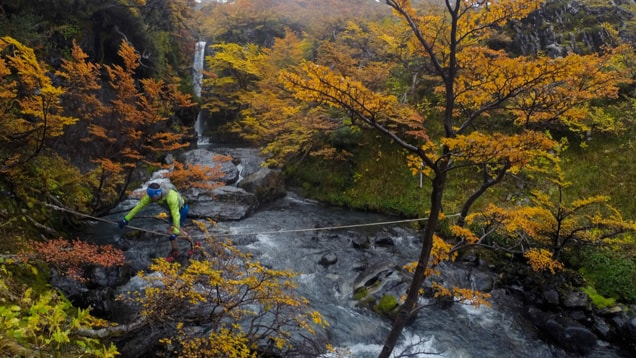 Ultra Fiord 2015; Patagonia, Chile; Ultra Trail Running; River Crossing;