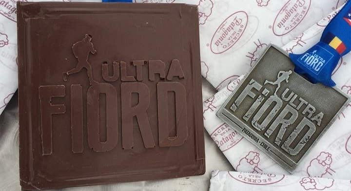 Ultra Fiord Medal Finish Line Patagonia, Chile