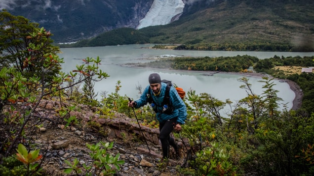 Ultra Trail Running, Ultra Fiord 2015 Glacier Balmaceda Patagonia, Chile