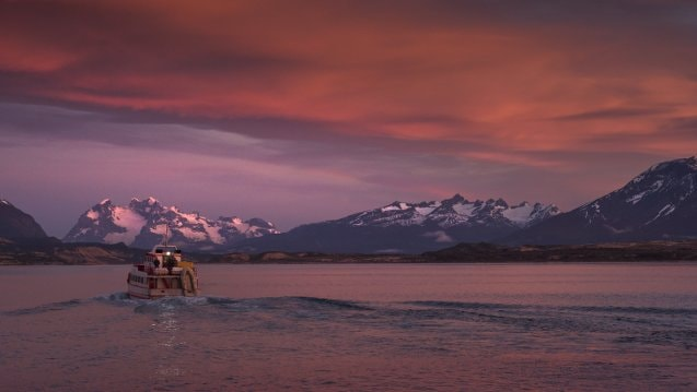 Crucero, Ultima Esperanza, Patagonia, Chile, Ultra Fiord